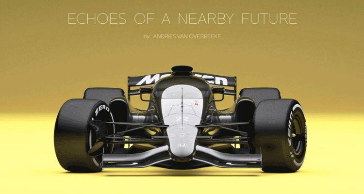 Andries Van Overbeeke F1 McLaren Honda