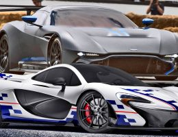 Goodwood 2015 Preview – Aston Martin VULCAN vs McLaren P1 Prost Moment MSO Special
