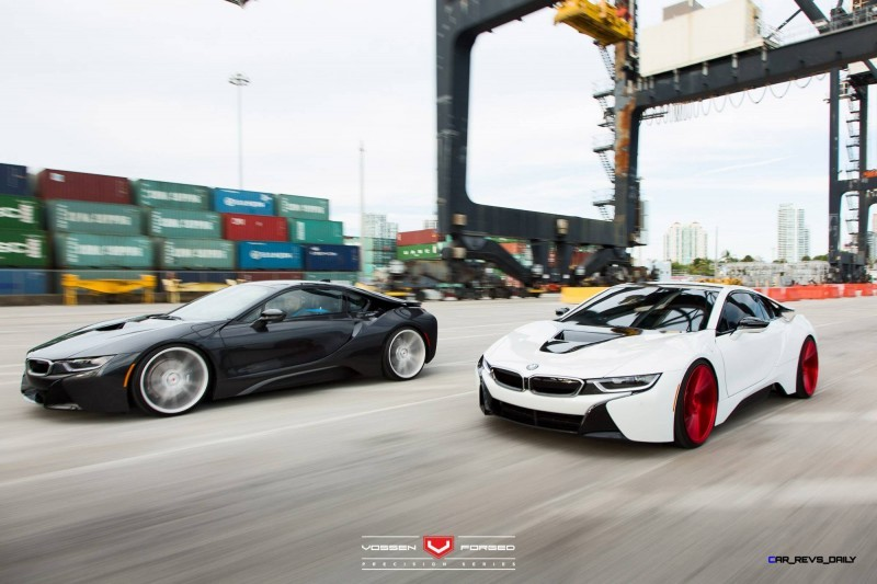 BMW i8 Duo - Vossen Forged Precision Series - © Vossen Wheels 2