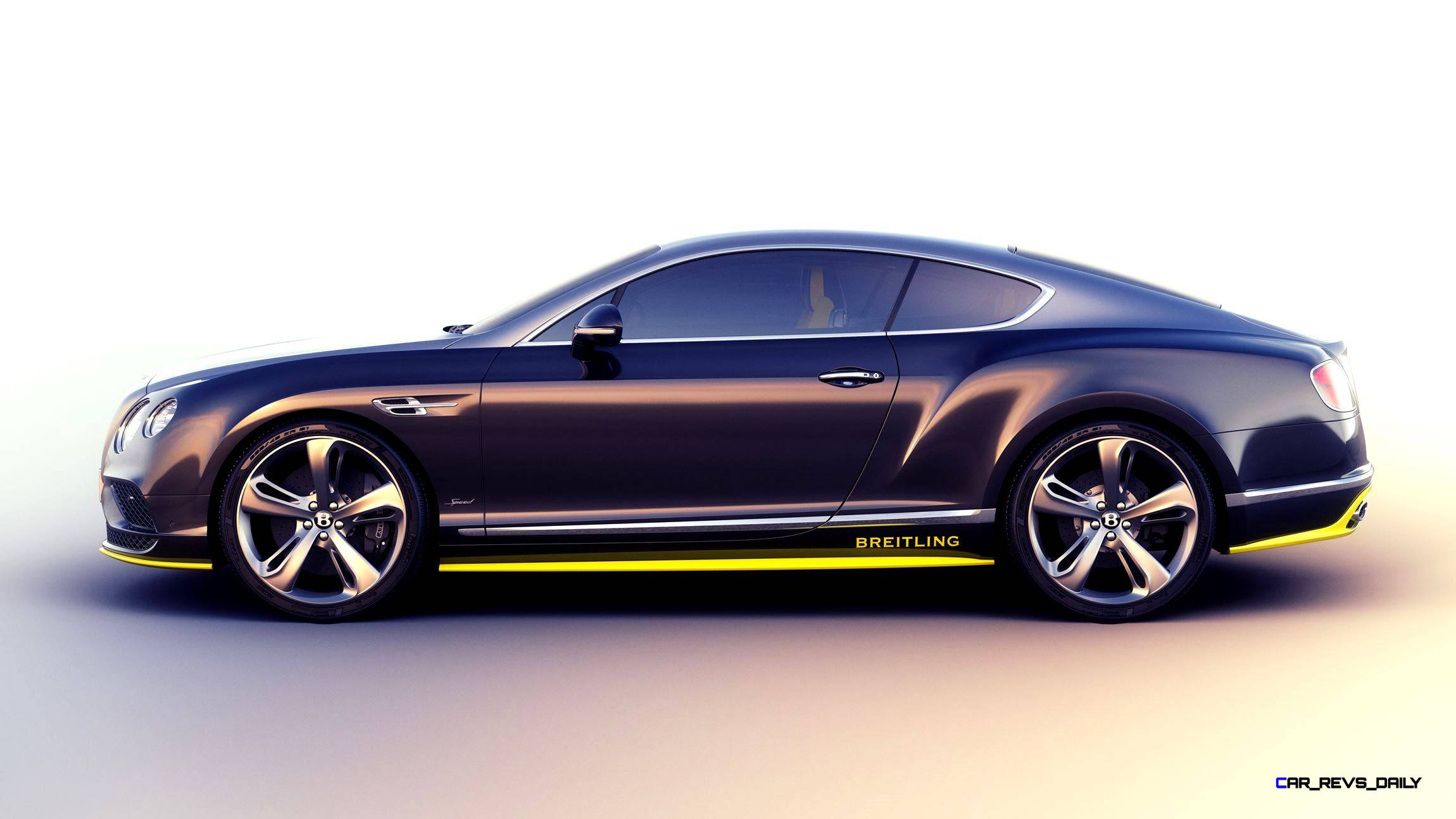 Bentley Continental GT Speed Breitling Jet Team Series Limited ...
