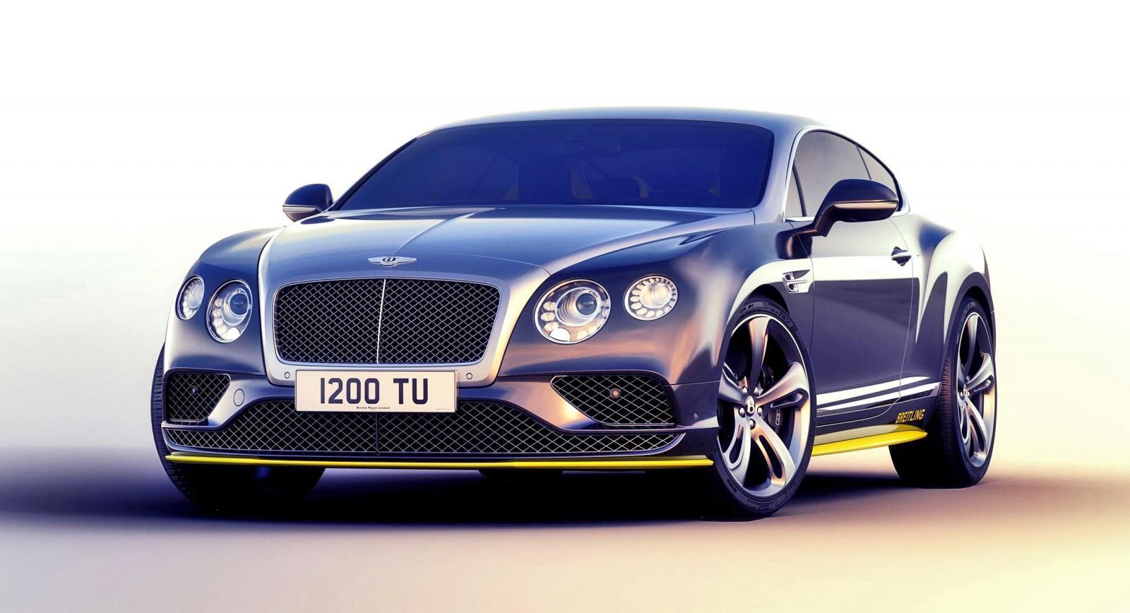 2016 Bentley Continental Gt Speed Breitling Jet Team