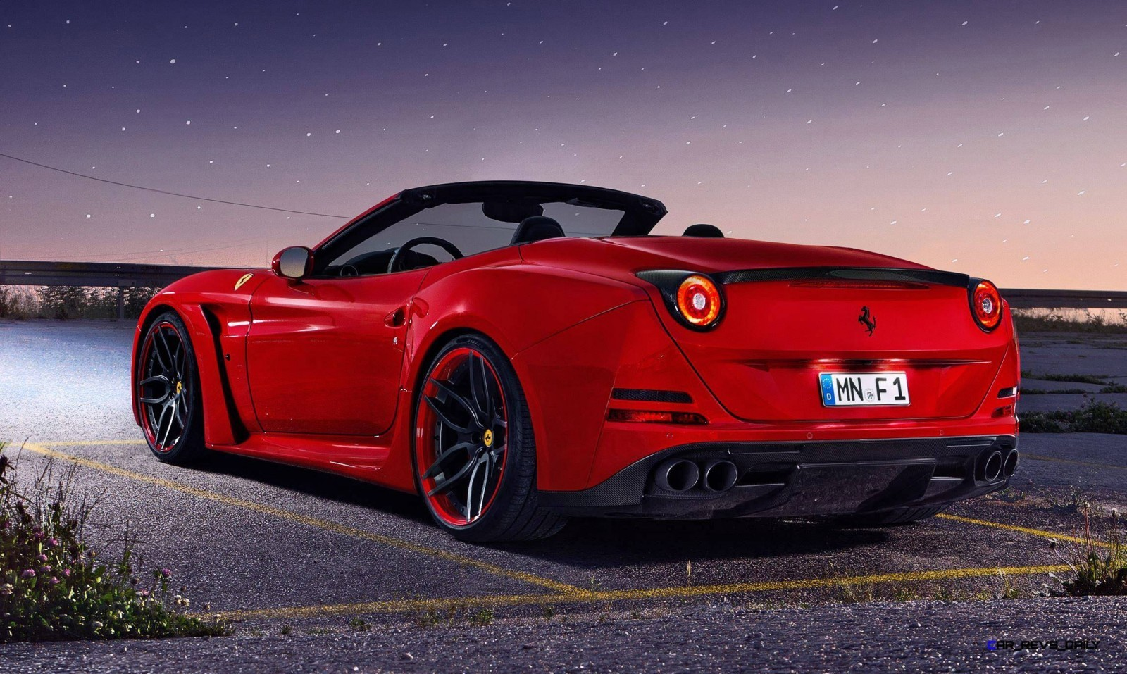 ferrari california t n largo by novitec rosso. Black Bedroom Furniture Sets. Home Design Ideas