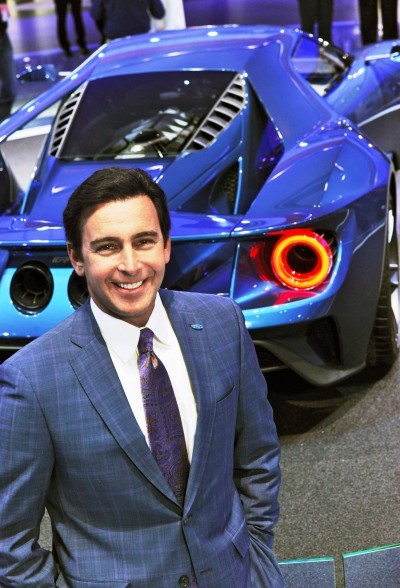Mark Fields and the all-new Ford GT