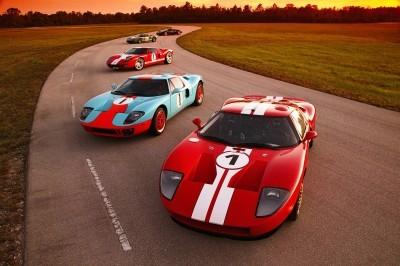 The all-new 2005 Ford GT will be a larger, modern presentation o