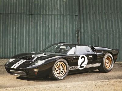 Ford GT40 Race Car