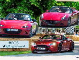 Goodwood Festival of Speed 2015 – New Cars Mega Gallery in 188 Pics