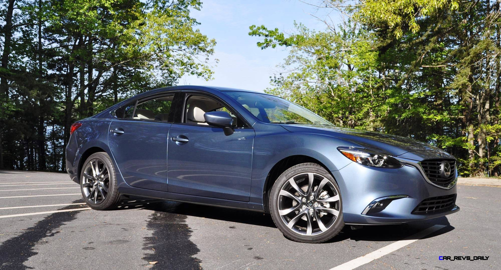 hd drive review video 2016 mazda6 grand touring 26. Black Bedroom Furniture Sets. Home Design Ideas