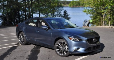 HD Drive Review Video - 2016 Mazda6 Grand Touring 46