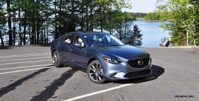 HD Drive Review Video - 2016 Mazda6 Grand Touring 47
