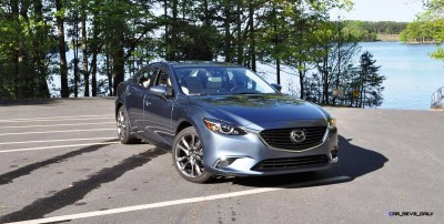 HD Drive Review Video - 2016 Mazda6 Grand Touring 48