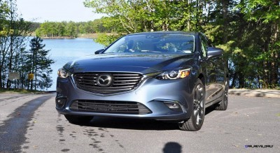 HD Drive Review Video - 2016 Mazda6 Grand Touring 63