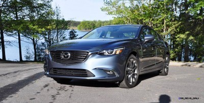 HD Drive Review Video - 2016 Mazda6 Grand Touring 64