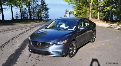 HD Drive Review Video - 2016 Mazda6 Grand Touring 85