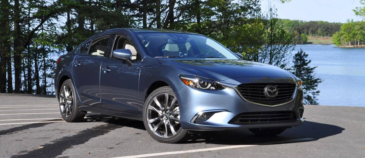 HD Drive Review Video - 2016 Mazda6 Grand Touring 9