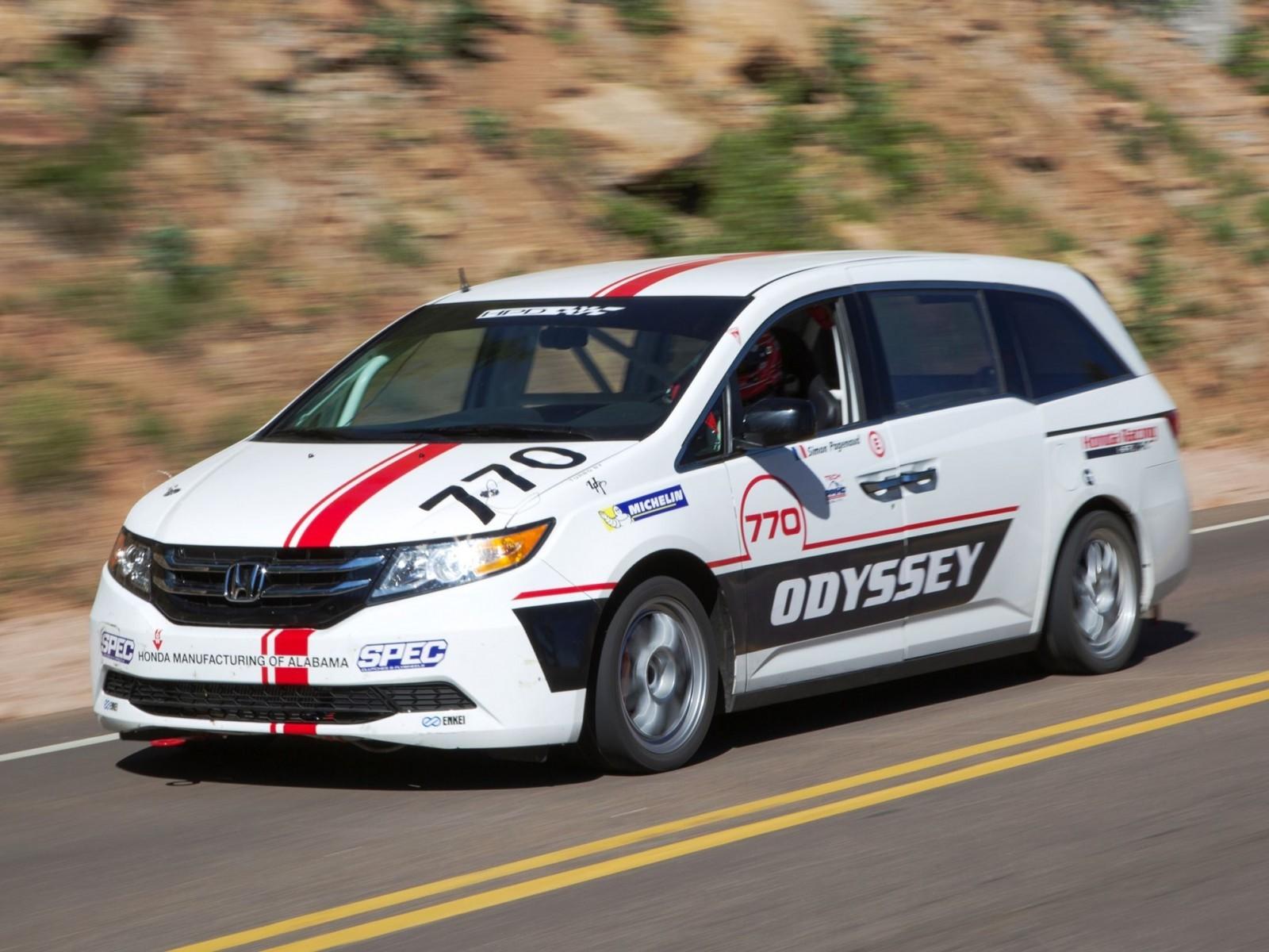 Open Road Acura >> Honda Odyssey Pikes Peak