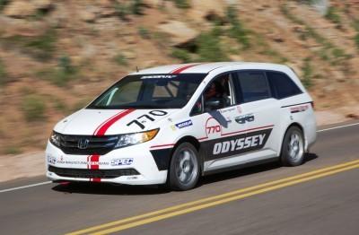 Honda Odyssey Pikes Peak