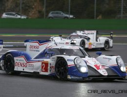 LeMans 2015 – Toyota TS040 Hybrid Gets New Nose, More Power and New Suspension Setup