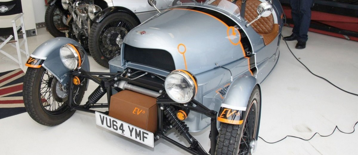 Morgan EV 3 Wheeler 14