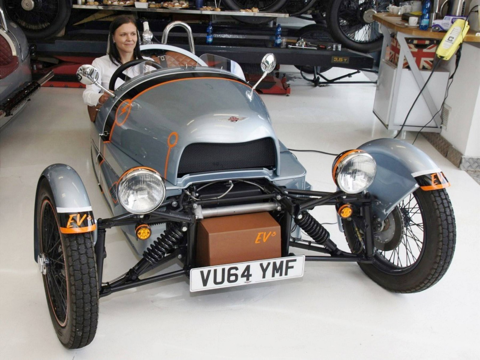 Morgan EV 3 Wheeler 17