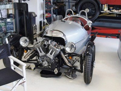 Morgan EV 3 Wheeler 4