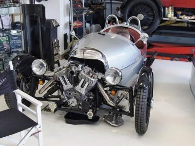 Morgan EV 3 Wheeler 4