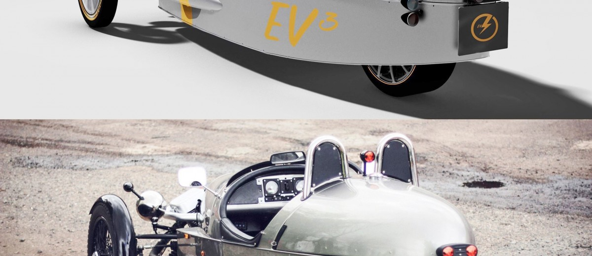 Morgan EV3 Prototype 2
