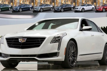 2016 Cadillac CT6 Black Pack Renderings + Animated COLORS Visualizer