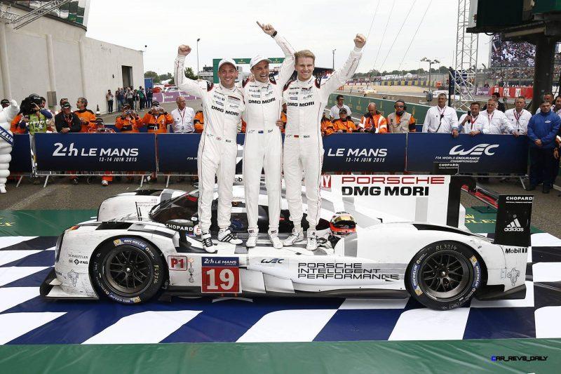 Porsche LeMans 2015 Victory 8