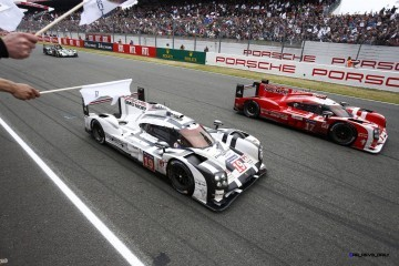 LeMans 2015 Video: Porsche 919 Hybrid Takes One-Two Victory!
