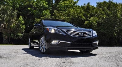 Road Test Review - 2015 Hyundai AZERA Limited 104