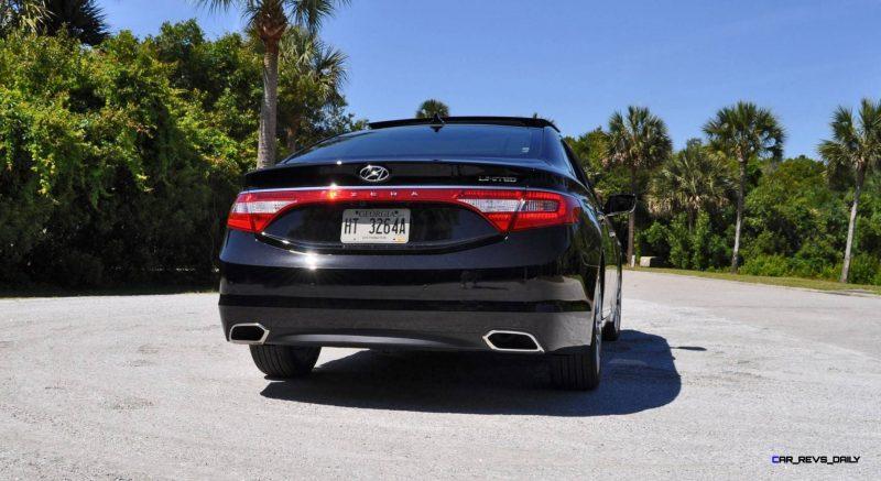 Road Test Review - 2015 Hyundai AZERA Limited 118