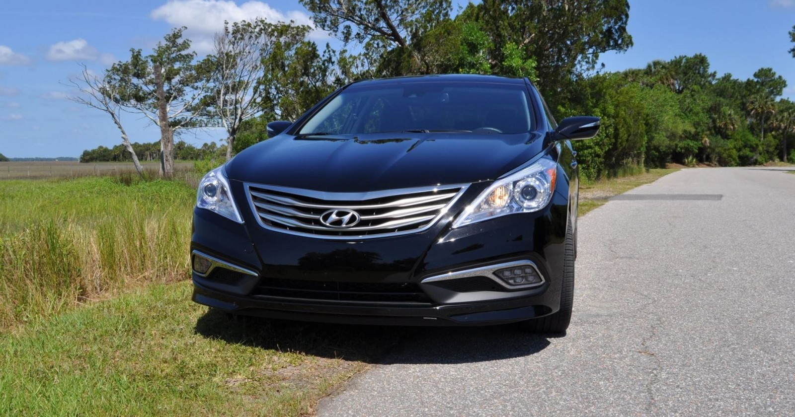 Road Test Review - 2015 Hyundai AZERA Limited 153