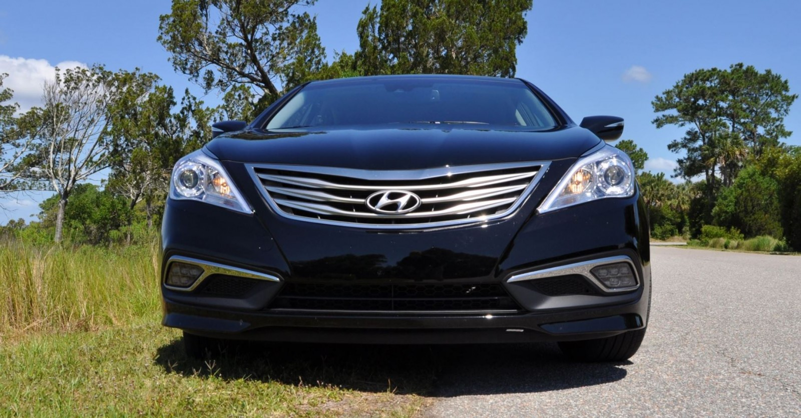 road test review 2015 hyundai azera limited 1 car revs. Black Bedroom Furniture Sets. Home Design Ideas