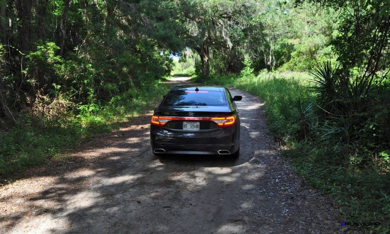 Road Test Review - 2015 Hyundai AZERA Limited 65