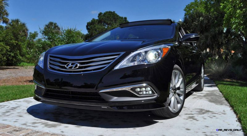 Road Test Review - 2015 Hyundai AZERA Limited 96