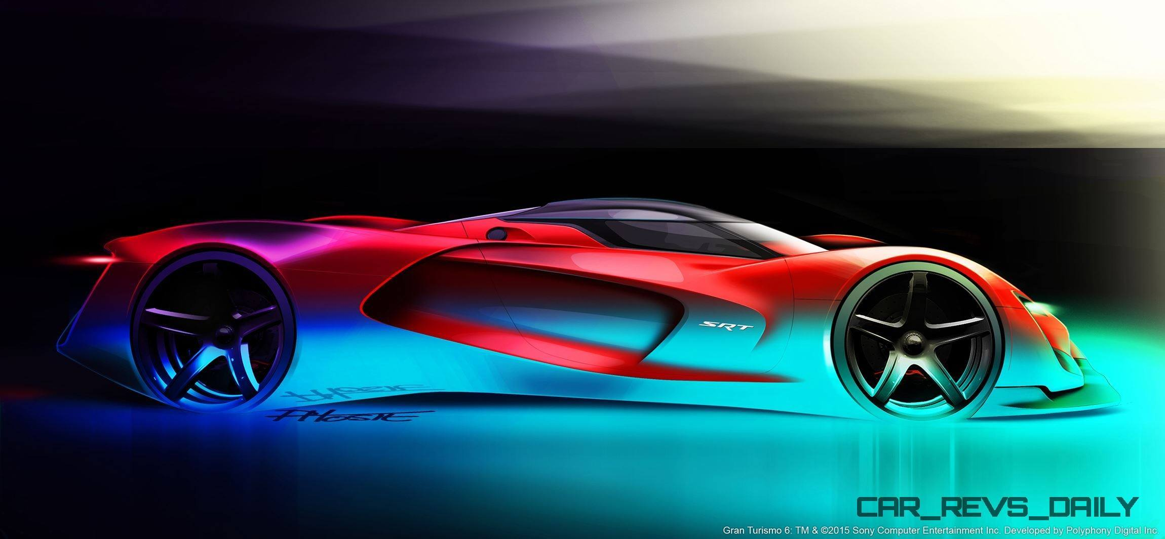 srt tomahawk vision gran turismo concept side view sketch. Black Bedroom Furniture Sets. Home Design Ideas
