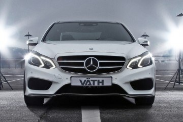 VAETH V50RS Makes MB E-Class V8 into Hidden Hammer