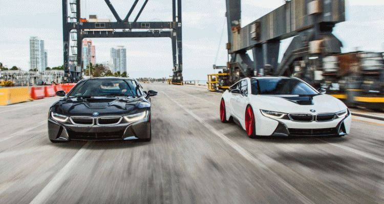 Vossen BMW i8 Wheels