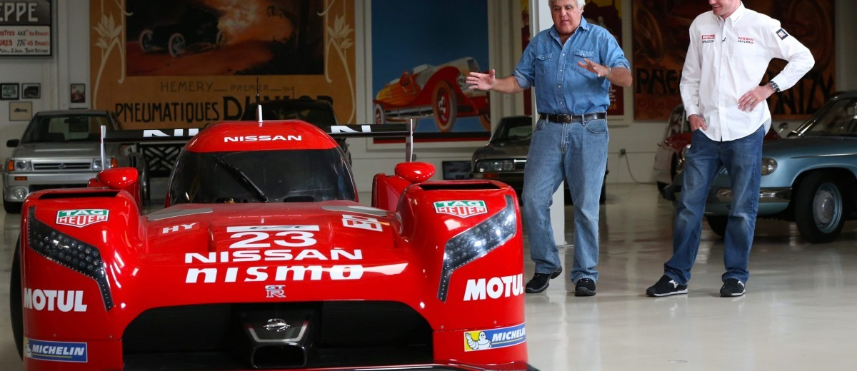 Nissan GT-R LM NISMO visits Jay Leno's Garage