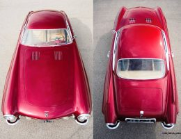 Jet-Age 1952 Jaguar XK120 SuperSonic by Ghia to Cross Block at RM Monterey 2015