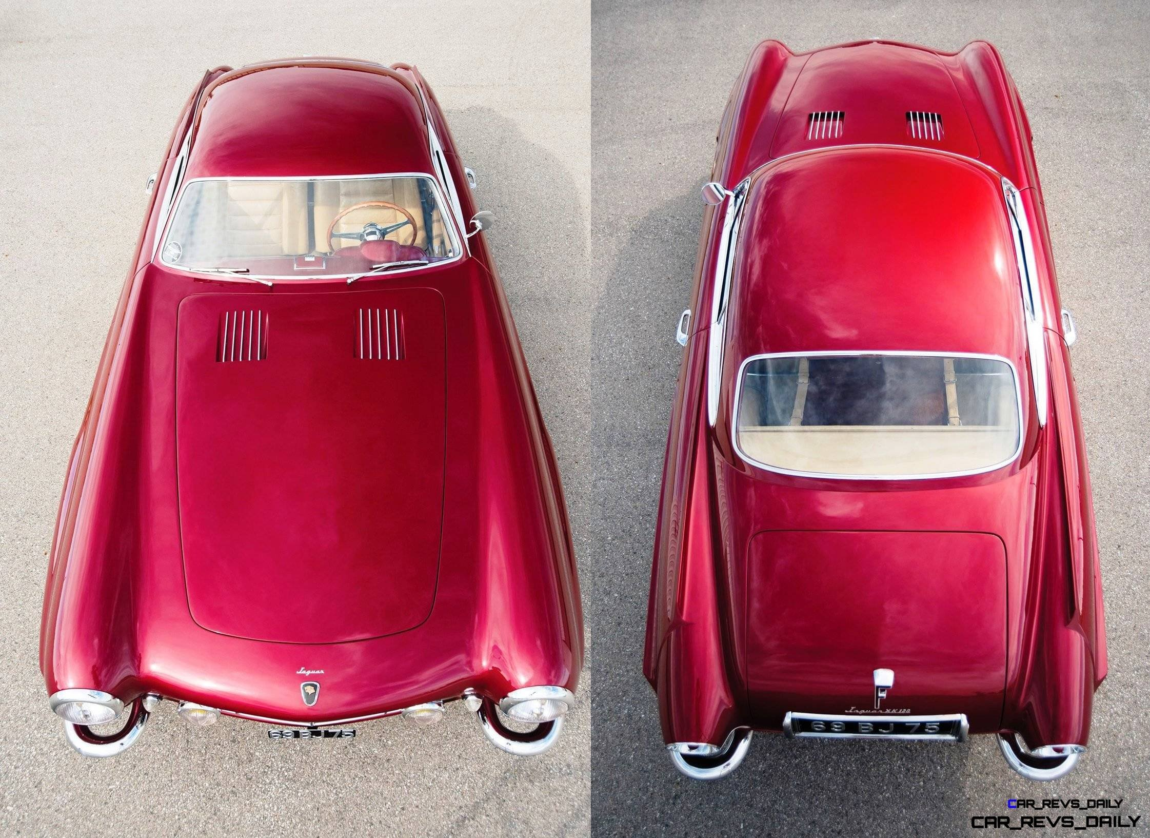 1952 Jaguar XK120 SuperSonic by Ghia 33-horz