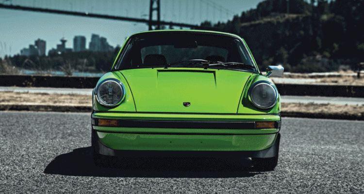 1974 Porsche 911 Carrera 2.7 Is Lime Green Dream for RM Monterey 2015