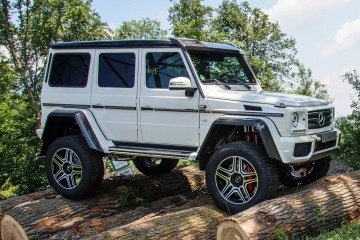 2016 Mercedes-Benz G500 4x4-Squared Priced from $265k, Arriving In December