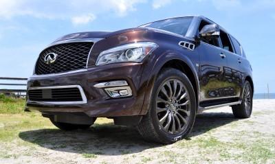 2015 INFINITI QX80 Limited AWD 10