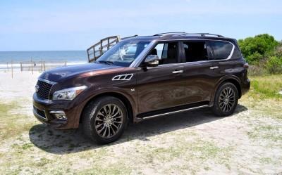 2015 INFINITI QX80 Limited AWD 16