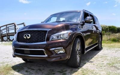 2015 INFINITI QX80 Limited AWD 17