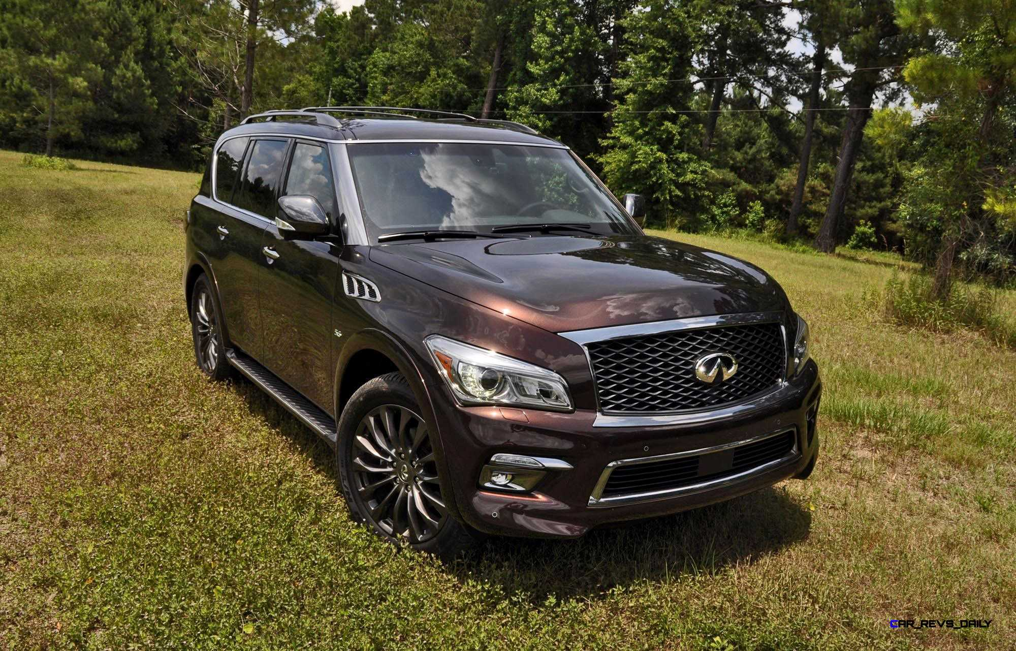 hd road test review 2015 infiniti qx80 limited awd car revs. Black Bedroom Furniture Sets. Home Design Ideas
