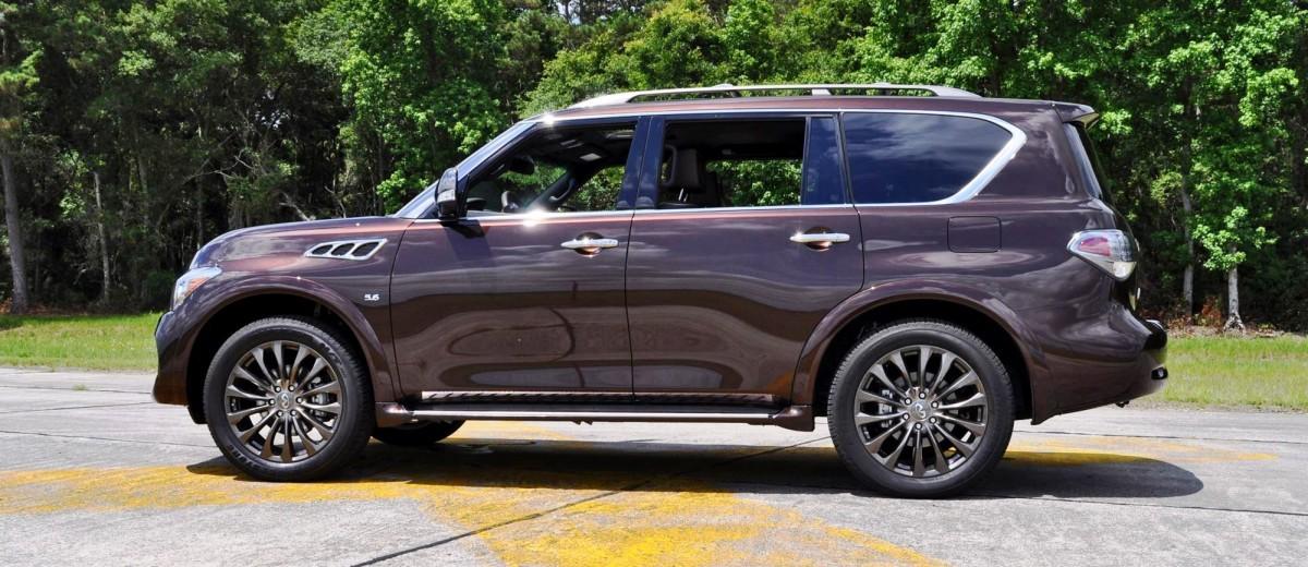 2015 INFINITI QX80 Limited AWD 40