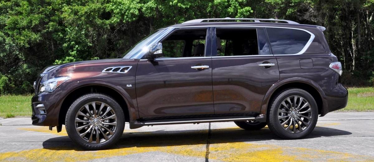 2015 INFINITI QX80 Limited AWD 41