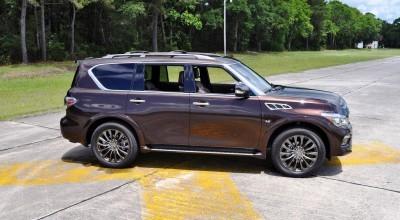 2015 INFINITI QX80 Limited AWD 58